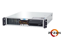Server - Rack Server - 2U - RECT™ RS-8623C-T - Short 2U Rack Server with AMD Ryzen™ Processor