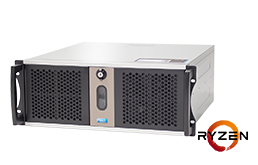 Server - Rack Server - 4U - RECT™ RS-8823C5-T - Short 4U Rack Server with AMD Ryzen™ Processor