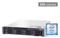 Silent-Server - RECT™ RS-8664R6 - 2HE Single-CPU Rack Server mit Intel Xeon E3-v6 CPUs