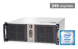 Silent-Server - RECT™ RS-8864C5 - Kurzer 4HE Single-CPU Rack Server mit Intel Xeon E3-v6 CPUs