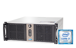 Silent-Server - RECT™ RS-8867C5-T - Kurzer 4HE Rack Server mit Intel Core™ Prozessoren