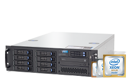 Silent-Server - RECT™ RS-8787R8 - 3HE Single Xeon Scalable Rack Server