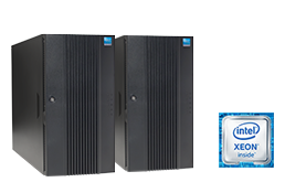 Silent-Server - RECT™ TS-5485MR8 - Cluster - Zwei Dual-CPU Tower Server mit Intel® Intel Xeon E5-v4 CPUs