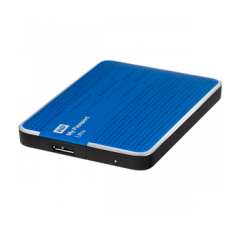 500 GB Western Digital My Passport Ultra (Blau)