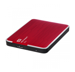 500 GB Western Digital My Passport Ultra (Rot)