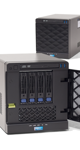 "Einstieg - Tower-Server - RECT™ TS-3164C4 - Kompakter Einsteiger: Tower-Server mit neuesten Intel Xeon E3-1200v6 CPUs ""Kaby Lake"""