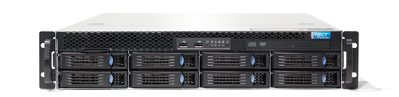 Virtualisierung - VMware - RECT™ RS-8684VR8 - 2HE Single-CPU Rack Server mit Intel Xeon E5-v4 CPUs