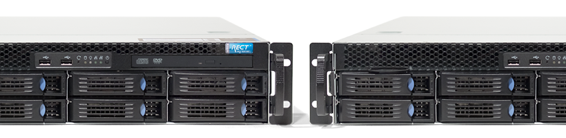 Failover - RECT™ RS-8685MR8 - Cluster - Zwei Dual-CPU 2HE Server mit Intel Xeon E5-v4 CPUs