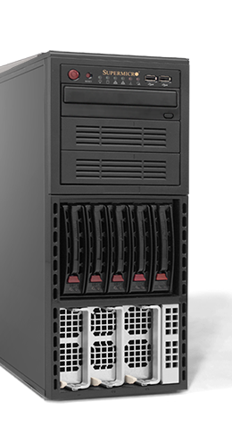 Server - Tower Server - High-End - RECT™ TS-6442R10 - AMD Quad-CPU Tower Server
