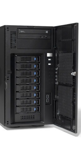 Server - Tower Server - Mid-Range - RECT™ TS-5488R8 - Intel Xeon Scalable im RECT Tower Server