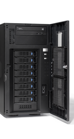 Virtualisierung - Microsoft - RECT™ TS-5485MR8 - Intel Xeon E5-v4 Dual-CPUs im Tower Server
