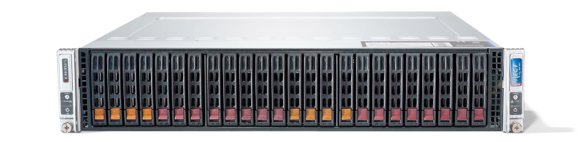 Virtualisierung - VMware - RECT™ RS-8685VR24-Twin - 2x 2HE Rack Server mit Intel Xeon E5-v4 CPUs