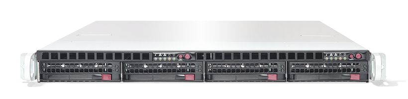 Server - Rack Server - Twin / Multinode - RECT™ RS-8585R4-Twin - 1HE Rack Server mit zwei Intel Xeon E5-v4 Systemen