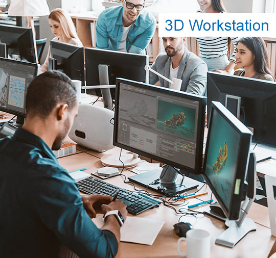 3D-Workstation