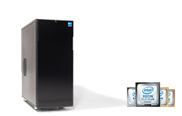 Arbeitsplatz - Workstation - RECT™ WS-2288R - Dual-CPU Workstation mit der ultimativen Kraft der Scalable R CPUs