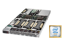 GPU Server - RECT™ RS-8588G4 - 1HE Dual Xeon Scalable Rack Server für bis zu 4 Grafikkarten