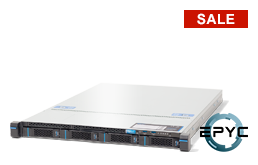 Server - Rack Server - 1U - RECT™ RS-8533R4 - 1U Rack Server with single AMD EPYC CPU up to 32 Cores