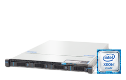 Server - Rack Server - 1U - RECT™ RS-8569R4 - 1U Rack Server with brand-new Intel Xeon E-2100 CPUs