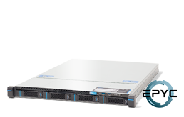 Server - Rack Server - 1U - RECT™ RS-8535R4 - 1U Rack Server with single AMD EPYC Rome CPU up to 32 Cores