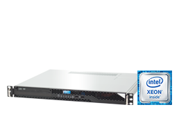 Server - Rack Server - 1U - RECT™ RS-8569C SHORTY - Short 1U Rack Server with Intel Xeon E-2200 CPUs