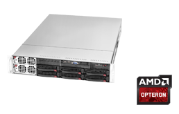 2HE AMD - Rack Server - RECT™ RS-8642R6 - 64 Kerne: 2HE Rack Server mit AMD Quad Opteron CPU