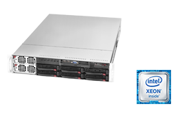 2HE Intel - Rack Server - RECT™ RS-8686R6 - bis 96 Kerne - 192 Threads! Quad-CPU Rack Server mit Intel Xeon E7-V4 CPUs Broadwell-EX
