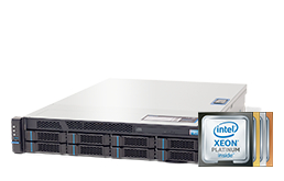 2HE Intel - Rack Server - RECT™ RS-8688R8 - Intel Xeon Scalable im 2HE RECT Rack Server
