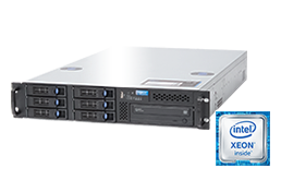 Server - Rack Server - 2HE - RECT™ RS-8685R6 - Broadwell-EP: 2HE Dual-CPU Rack Server mit Intel Xeon E5-v4 CPUs