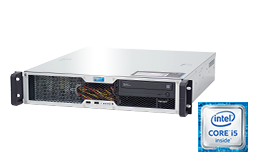 "Server - Rack Server - 2HE - RECT™ RS-8665C-T - Kurzer 2HE Rack Server mit neuesten Intel Core Single-CPUs ""Kaby Lake"""