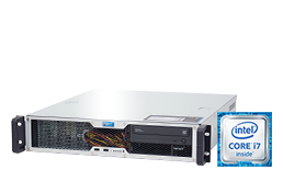 Server - Rack Server - 2HE - RECT™ RS-8667C-T - Kurzer 2HE Rack Server mit Intel Core™ Prozessoren