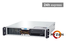 Server - Rack Server - 2HE - RECT™ RS-8625C-T - Kurzer 2HE Rack Server mit AMD Ryzen™ 5000