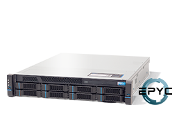 Server - Rack Server - 2HE - RECT™ RS-8635R8 - 2HE Rack Server mit Single AMD EPYC Rome CPU bis 64 Kerne