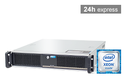 Server - Rack Server - 2U - RECT™ RS-8664C - Short 2U Single-CPU Rack Server with Intel Xeon E3-v6 CPUs