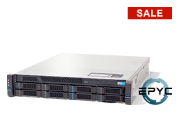 Server - Rack Server - 2U - RECT™ RS-8633R8 - 2U Rack Server with single AMD EPYC CPU for up to 32 Cores