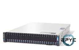 Server - Rack Server - 2U - RECT™ RS-8636R24 - 2U Rack Server with AMD EPYC Rome CPUs for up to 128 Cores