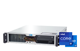 Server - Rack Server - 2U - RECT™ RS-8670C-T - Short 2U Rack Server with latest Intel® Core™ CPUs
