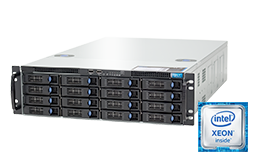 3HE Intel - Rack Server - RECT™ RS-8785S16 - All-In-12G: 3HE Rack Server mit neuesten Intel Xeon E5-v4 CPUs Broadwell-EP