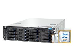 Server - Rack Server - 3HE - RECT™ RS-8787R16 - Single Xeon Scalable R im 3HE Rack Server