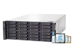 Server - Rack Server - 4HE - RECT™ RS-8888S24 - Intel Xeon Scalable im 4HE RECT Rack Server