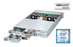 Server - Rack Server - Twin / Multinode - RECT™ RS-8685VR24-TwinPro² - 2HE Rack Server mit 4x Dual Intel Xeon E5-v4