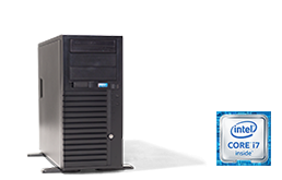 Silent-Server - RECT™ TS-3267C4-T - Tower Server with Intel® Core™ Processors