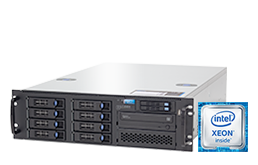 "Silent-Server - RECT™ RS-8764R8 - 3HE Single-CPU Rack Server mit Intel Xeon E3-v6 CPUs ""Kaby Lake"""