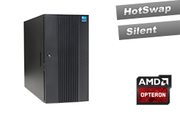Mid-Range - Tower-Server - RECT™ TS-5432R8 - 32 Kerne! Neueste AMD Opteron Dual-CPU Tower Server