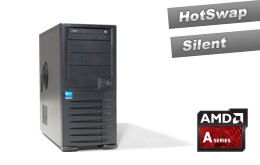 Einstieg - Tower-Server - RECT™ TS-3222C4 - AMD Single-CPU Tower Server