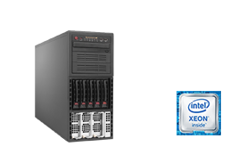 Server - Tower Server - High-End - RECT™ TS-6486R10 - High-End Tower Server mit 4x Intel Xeon E7 CPUs Broadwell-EX