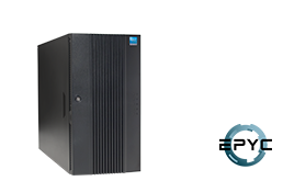 Server - Tower Server - Mid-Range - RECT™ TS-5436R8 - Tower Server with all-new AMD EPYC Rome CPUs for up to 128 Cores