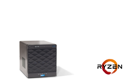 Server - Tower Server - Entry - RECT™ TS-3125C4-T - Compact mini Tower-Server with AMD Ryzen 3000 CPUs