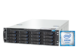 Virtualization - Microsoft - RECT™ RS-8785MR16 - Intel Xeon E5-v4 Dual-CPUs in 3U Rack Server