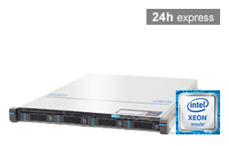 Virtualization - Microsoft - RECT™ RS-8564MR4 - 1U Rack Server with Intel Xeon E3-V6 CPUs
