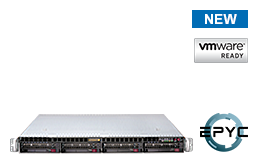 Virtualization - VMware - RS-8535VR4 - 1U Rack Server with single AMD EPYC Rome CPU up to 64 Cores